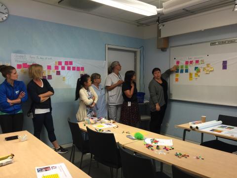 Behovsinventering på Rehabiliteringsmedicinska kliniken, USÖ, med hjälp av projekt Smarta äldre