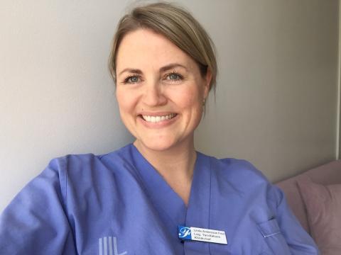 Klinikchefen Linda ser traineeprogrammet som en unik möjlighet
