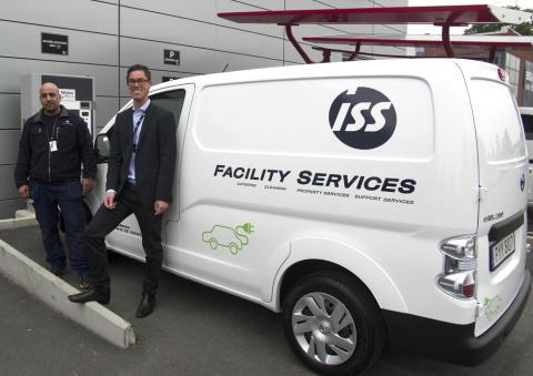 ISS satsar på elbilar för minskad miljöpåverkan