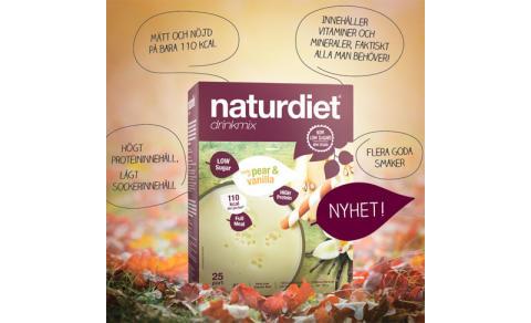 Naturdiets sortiment av drinkmixer utökas med ytterligare en god smaknyhet!