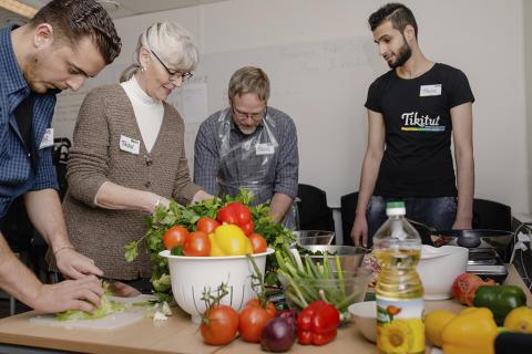 Matlagning över språkbarriärerna