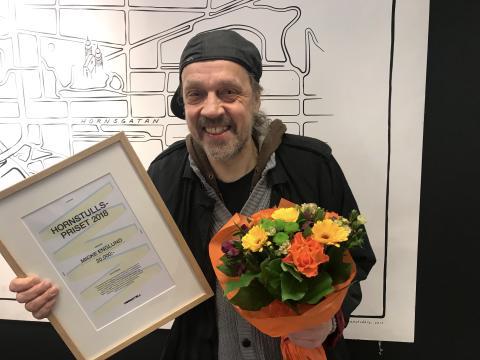 Micke Englund vinner Hornstullspriset