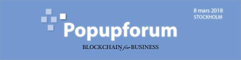 Popupforum - BLOCKCHAIN for BUSINESS