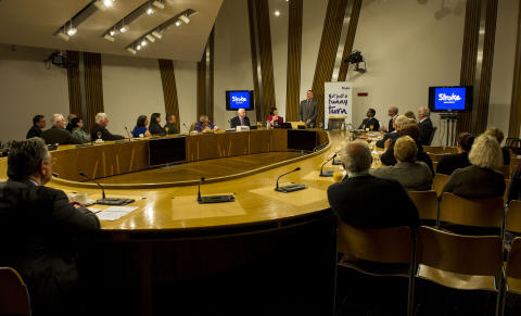 'not just a funny turn' event at The Scottish Parliament
