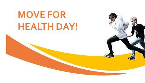 """Låt trivselledarna på skolan inspirera till mer aktivitet på """"Move for health day"""" den 10 maj!"""