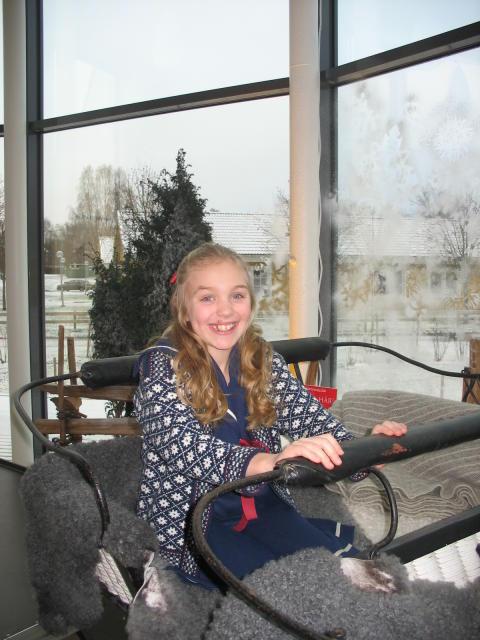 Matilda avslutar Musik i juletid på Astrid Lindgrens Näs