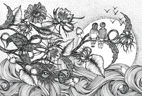 Pressvisning av Drawing Nature