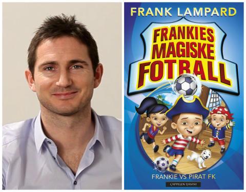 Fotballstjernen Frank Lampard med barnebokserie