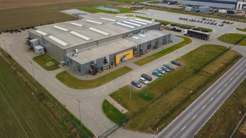 Utbyggnaden av Engcons fabrik i Polen klar och invigd