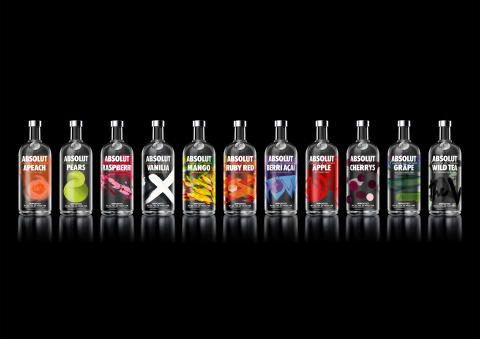 ABSOLUT ANNOUNCES THE REDESIGN OF ITS FLAVOUR RANGE – A STRIKING TRANSFORMATION TRUE TO THE BRAND'S CREATIVE HERITAGE