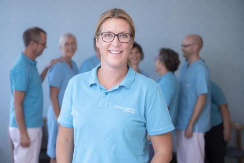 Sara Banegas, specialist i allmänmedicin och verksamhetschef, Ekerö vårdcentral.