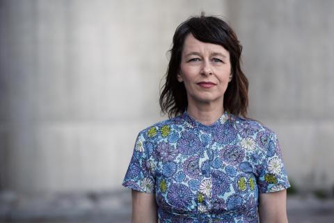 Anna Charlotta Gunnarson, programledare för UR:s Pop och politik