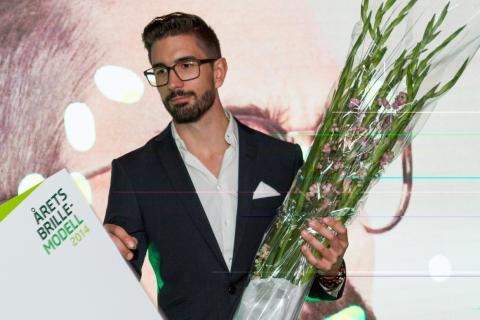 Odd Martin vant Årets Brillemodell 2014