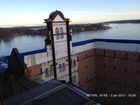 M3 Bygg AB bygger 41st lägenheter i Silo III åt Riksbyggen på Kvarnholmen i Nacka kommun