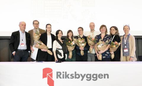 Riksbyggen delar ut 590 000 kronor för idéer om hållbara städer