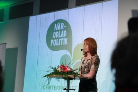 Påminnelse: Annie Lööf besöker Halmstad och Lund, presenterar ny EU-rapport