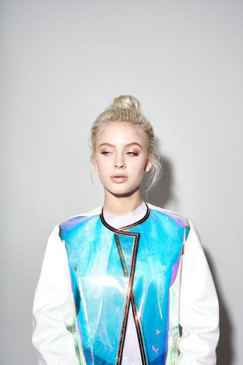 Zara Larsson klar för Grönans Stora Scen