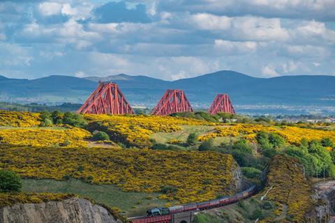Borders Railway gathers steam