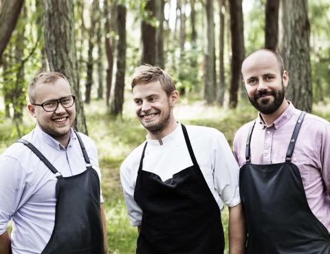 Magnus, Nicolai og Rasmus - Kadeau