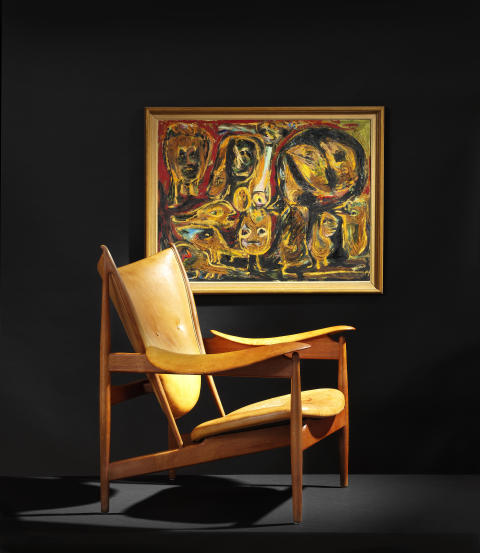 "Finn Juhl ""Chieftain Chair"" (1949)"