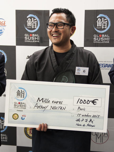 Anthony Nguyen, Global Sushi Challenge France 2015