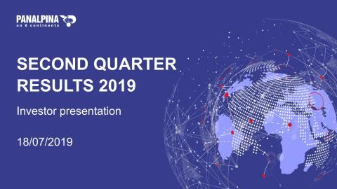 Half-year Results 2019 – Investor Presentation