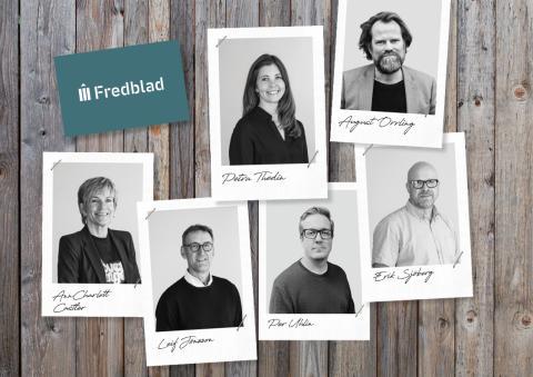 Fredblad Arkitekter stärker upp med två nya delägare