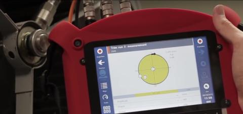 Fixturlaser SMC Touch Tip-Using the SMC When Unbalance is Diagnosed