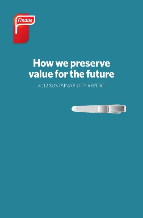 Findus Sustainability Report 2012