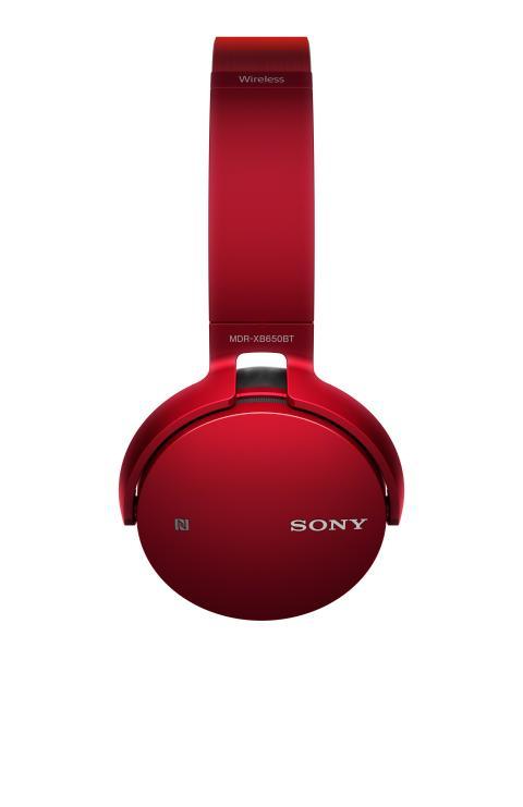 MDR-XB650BT von Sony_Rot