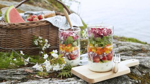 Fri tilgang til bilder, oppskrifter og kunnskap om frukt og grønt