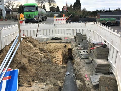 Entscheidende Hürde überwunden: Bahnquerung in Nieukerk