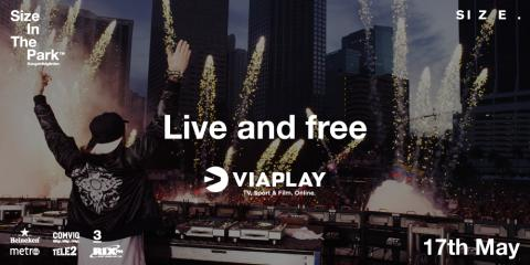 Viaplay invites the world to enjoy Steve Angello`s one-day festival