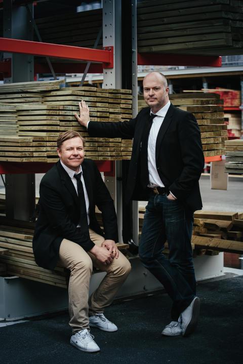 CEO Magnus Svensson och CIO Patrik Dahlén