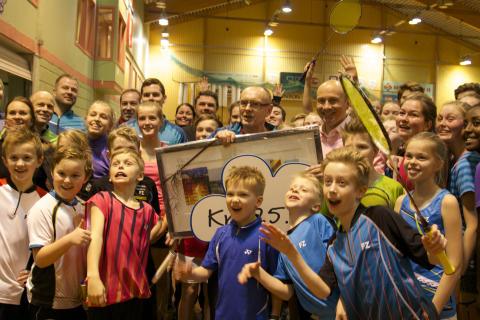 Ildsjel i Kristiansand Badmintonklubb