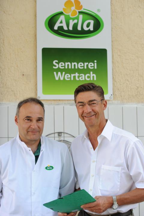Karl-Michael Grueber und Eberhard Jehle