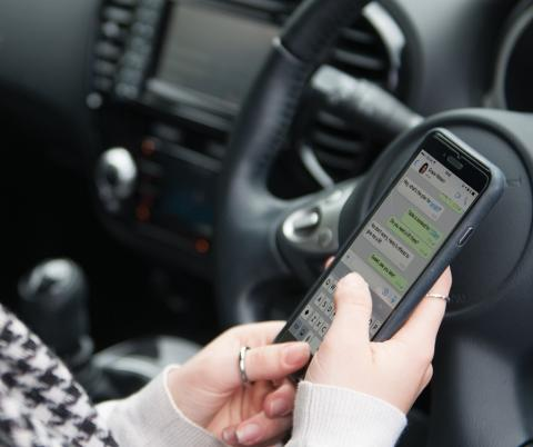 Fewer than four in 10 drivers aware of penalties for using a handheld phone