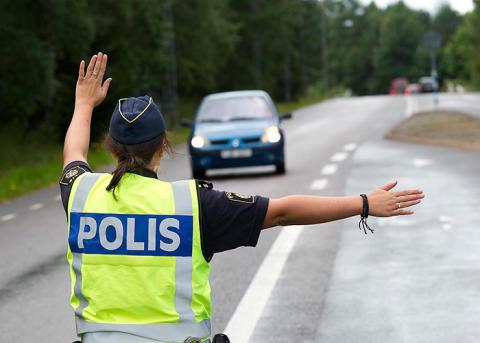 Polisen på rätt spår