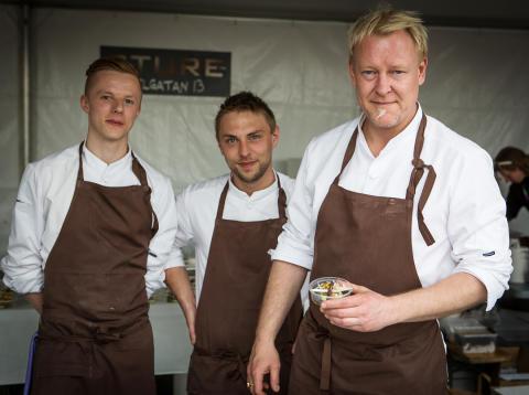 Restaurang Sture - vinnarna av Skånes Matfestivals Gastronomiska Pris