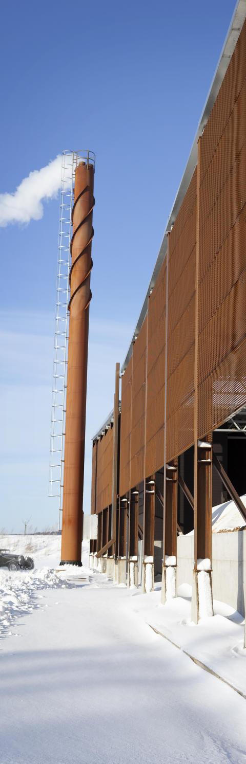 Biobränsleanläggning till Trolleholms Gods 5.