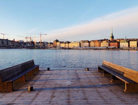 Arkitekter ritar om Skeppsbron. Ny utställning 26 april - 9 juni.