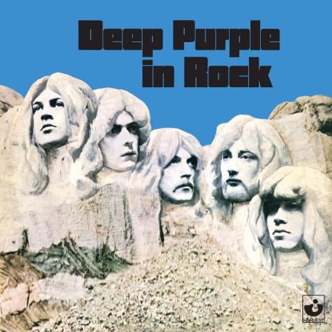 Deep Purple med legendariske album på lilla vinyl