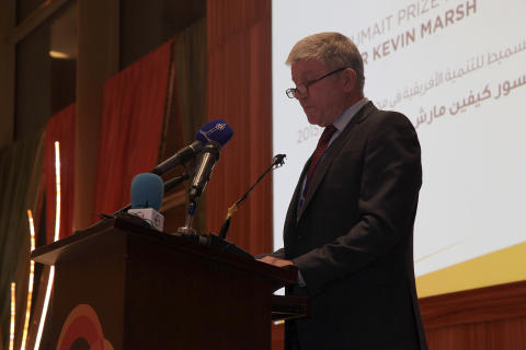 Professor Marsh Speech at Al-Sumait Prize Awards
