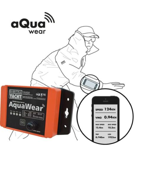 iPad  & SmartPhone Integration Onboard with AquaWear NMEA to WiFi server - plus a special for Australasia during Feb 2017