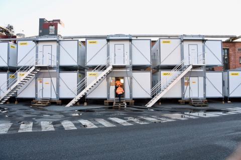 Ramirent hjälper vid underhållsstopp i Domsjö Fabriker