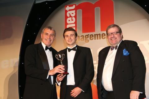 Turner's Pies collect Steak Pie Retail Catgeory Award
