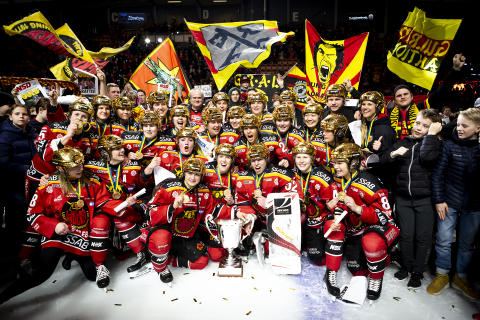 Piteå hyllar våra svenska mästare