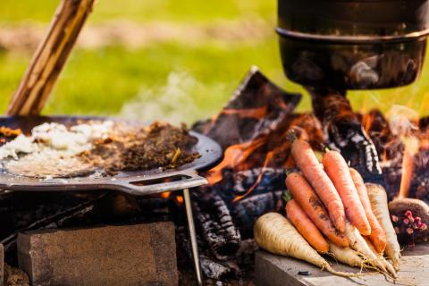 De tävlande lagen klara för SM i matlagning utomhus