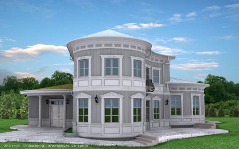 Villa Äntligen, unikt lågenergihus