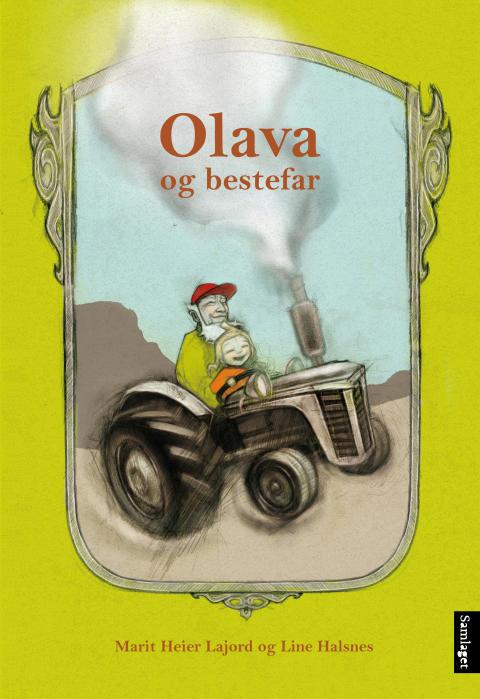 """Marit Heier Lajord debuterer med barneboka """"Olava og bestefar"""""""